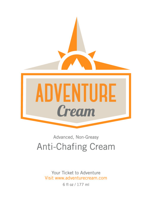adventureCream, anti-chafing, cream, chafing, adventure, product